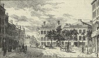 Franklin House in 1856